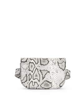 Scoop Faux Snake Belt Bag by Scoop