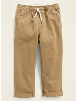 Relaxed Pull On Twill Pants For Toddler Boys by Old Navy