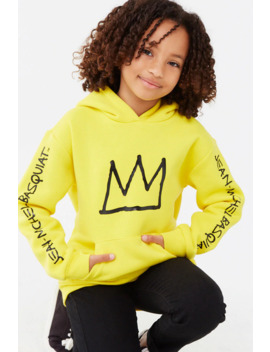 Girls Basquiat Graphic Hoodie (Kids) by Forever 21