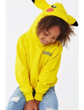 Girls Pokemon Hoodie (Kids) by Forever 21