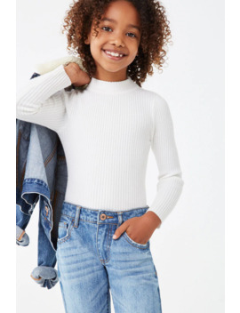 Girls Long Sleeve Top (Kids) by Forever 21