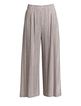 Mellow Pleats Culottes by Pleats Please Issey Miyake