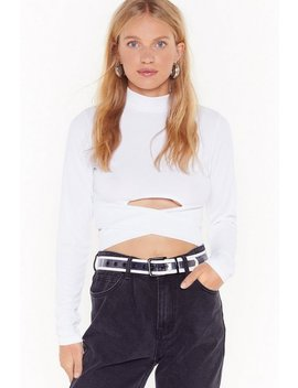 High Class Cut Out Crop Top by Nasty Gal