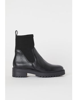 Boots With Soft Leg Section by H&M