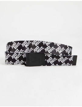 Nike Just Do It Stacked Web Belt by Nike