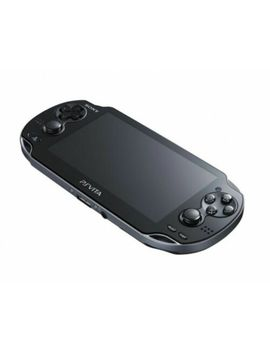 Sony Ps Vita Pch 1000 Za01 Crystal Black Console Only Wi Fi Model Japan Official by Sony