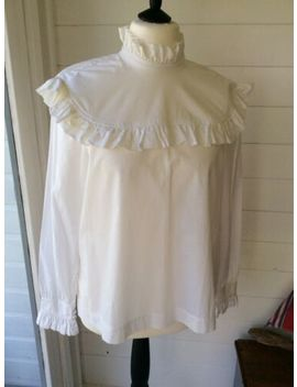 Alexa Chung For Marks & Spencer Harry Blouse White Size 16 Vgc by Ebay Seller