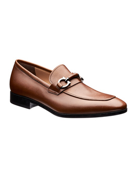 Benford Calfskin Loafers by Salvatore Ferragamo Benford Calfskin Loafers