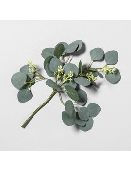 """<Span><Span>16"""" Faux Eucalyptus Stem With Berries   Hearth &</Span><Br><Span>Hand With Magnolia</Span></Span><Span Style=""""Position: Fixed; Visibility: Hidden; Top: 0px; Left: 0px;"""">…</Span> by Hearth &Hand With Magnolia…"""