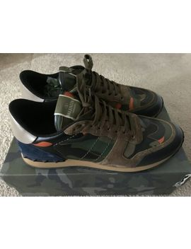 100% Authentic Limited Edition Valentino Caravani Rockrunner Trainers/Sneak<Wbr>Ers by Ebay Seller