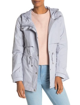 Hooded Rain Jacket by Cole Haan