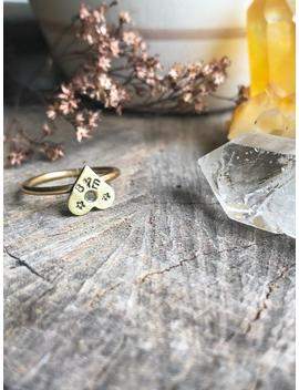 Bye Planchette Ring by Etsy
