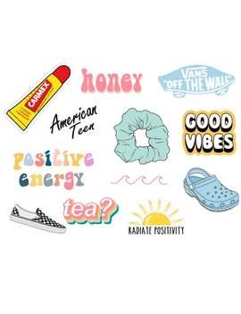 Vsco Stickers by Etsy
