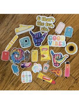 Vsco Sticker Pack Waterproof Stickers Water Bottle Stickers Lap Top Stickers Phone Stickers by Etsy