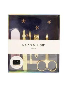Skinny Dip Navy Velvet Manicure Set by Superdrug