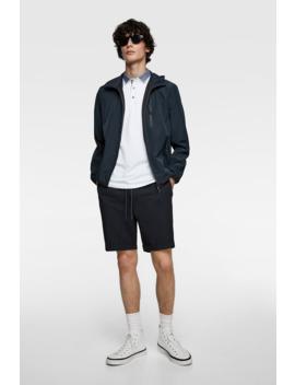 Contrasting PiquÉ Polo Shirt View All Polos Man by Zara