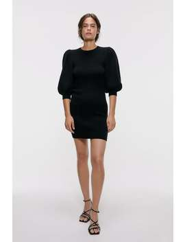Puff Sleeve Dress View All Knitwear Woman by Zara