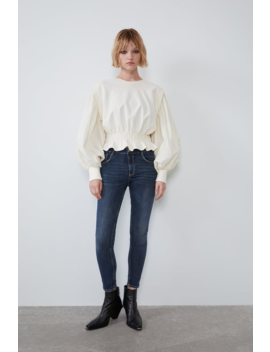 Mid Rise Sculpt Jeans Skinny Jeans Woman by Zara