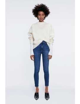Hi Rise Vintage Skinny Jeans Skinny Jeans Woman by Zara