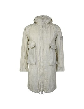 Ghost Collection Hooded Parka Jacket by Stone Island