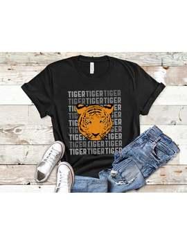 Tiger Shirt Women, Tiger Shirt Kids, Tank Top, Hoodie, Tiger Face T Shirt by Etsy
