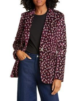 Cherise Velvet Jacket by La Vie Rebecca Taylor