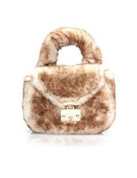 Max Fur Bag   Brown by Fashion Nova