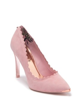 Sloana Scalloped Trim Pump by Ted Baker London