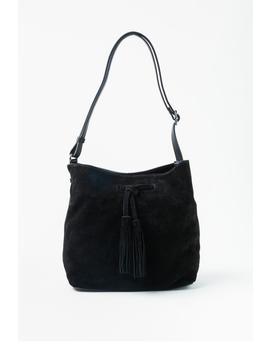 Dawn Suede Bucket Handbag by Francesca's