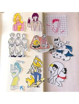 Camila   Cartoon Stickers by Camila
