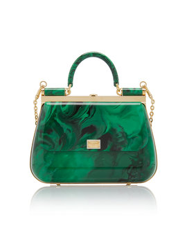 Plexi Top Handle Bag by Dolce & Gabbana