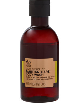 Spa Of The World Tahitian Tiaré Bath & Shower Oil In Gel by The Body Shop