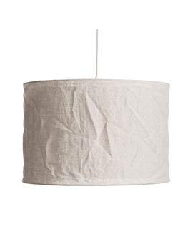 Baulin Crinkled Linen Lampshade by Am.Pm