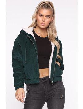 Adoring You Bomber Jacket   Emerald by Fashion Nova