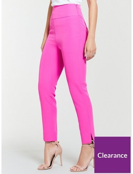 Slim Leg Trouser   Fuchsia by Michelle Keegan