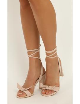 Billini   Granita Heels In Blush Micro by Showpo Fashion