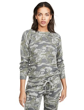 Grey Camo Raglan Sweatshirt by Monrow