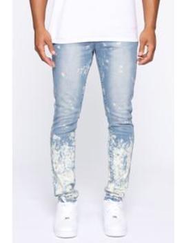 Fallen Skinny Jean   Medium Wash by Fashion Nova