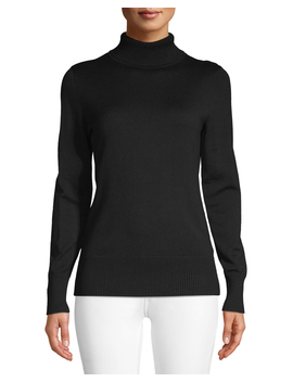 Women's Turtleneck Sweater by Time And Tru