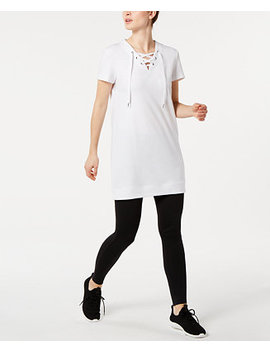 Lace Up Tunic, Created For Macy's by General