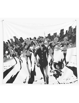 The March On  Wall Tapestry by William Hudson