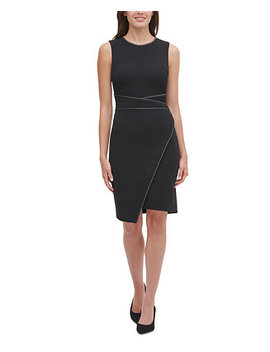 Piped Sheath Dress by General