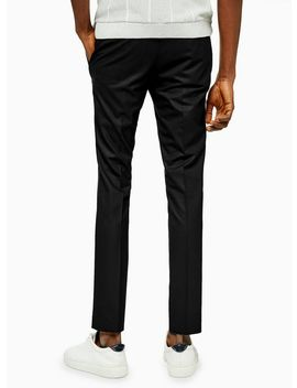 Black Super Skinny Fit Suit Pants by Topman