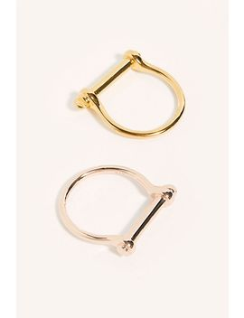 Miansai Thin Screw Ring by Miansai