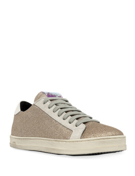 John Glitter Low Top Sneakers by P448