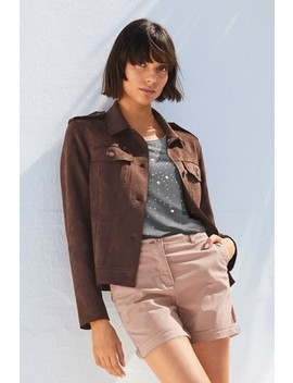 Suedette Western Jacket by Next