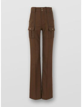 Flared Trousers by Chloe