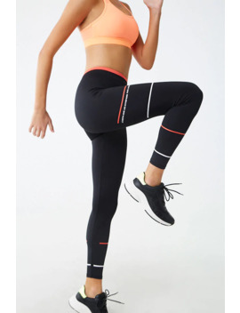 Active Fearless Graphic Leggings by Forever 21