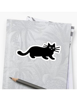 Black Cat(S) Sticker by Jenn Inashvili