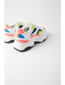 Multicolored Sneakers  Sneakers Shoes Woman by Zara
